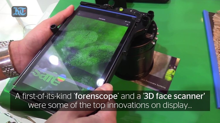 Forenscope Forensic Tablet- Dubai Police Forensic Science and Criminology Department